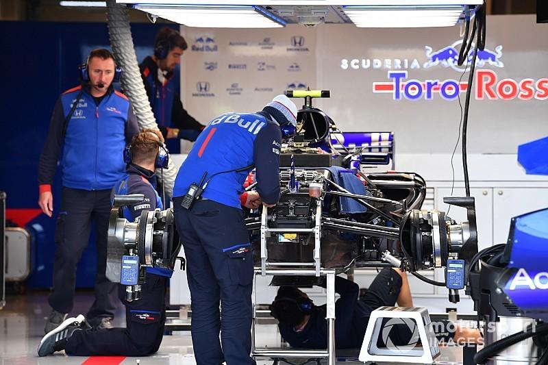 Amerika'da sadece Gasly Toro Rosso güncellemesini deneyecek