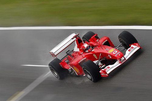 Schumacher's Ferrari F2002 to be auctioned in Abu Dhabi