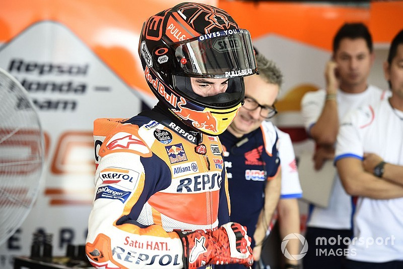 Para Márquez, alvo é estar 100% fisicamente no GP da Argentina
