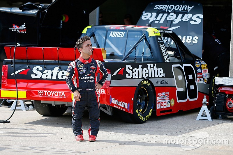 Rico Abreu Will Not Return To Full Time Nascar Competition