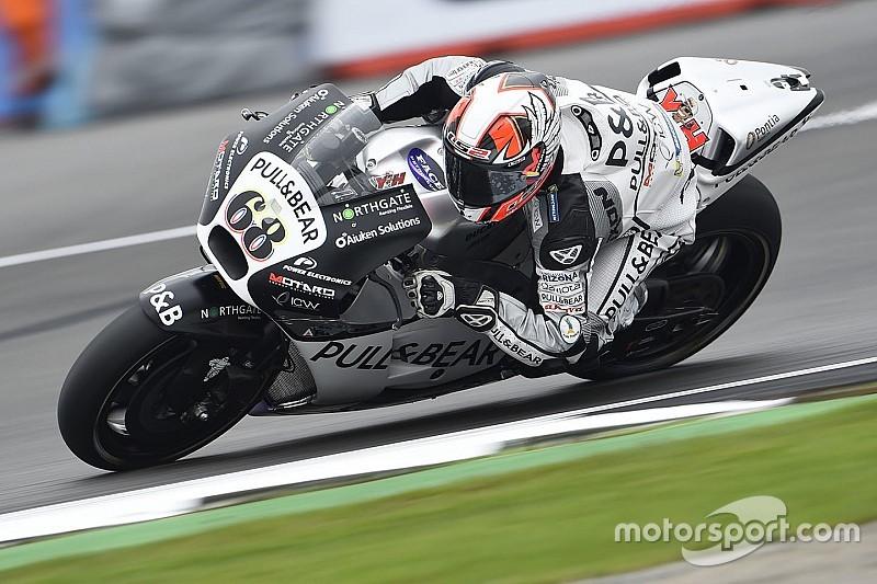 WUP MotoGP Silverstone: Hernandez tercepat di lintasan basah