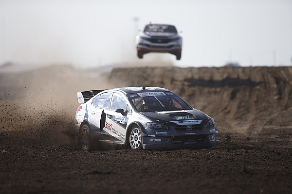 Global Rallycross Breaking news Sandell, Atkinson join Subaru GRC attack