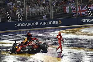 F1 Noticias de última hora Verstappen culpa a Vettel del accidente en Singapur