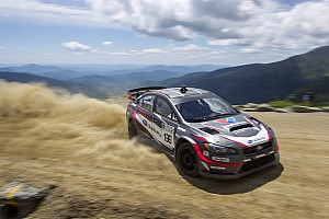 Hillclimb Race report Subaru driver Travis Pastrana smashes Mt. Washington Hillclimb record