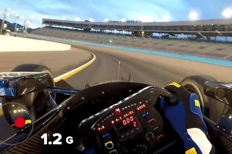 VÍDEO: Confira treino em oval com câmera na altura dos olhos