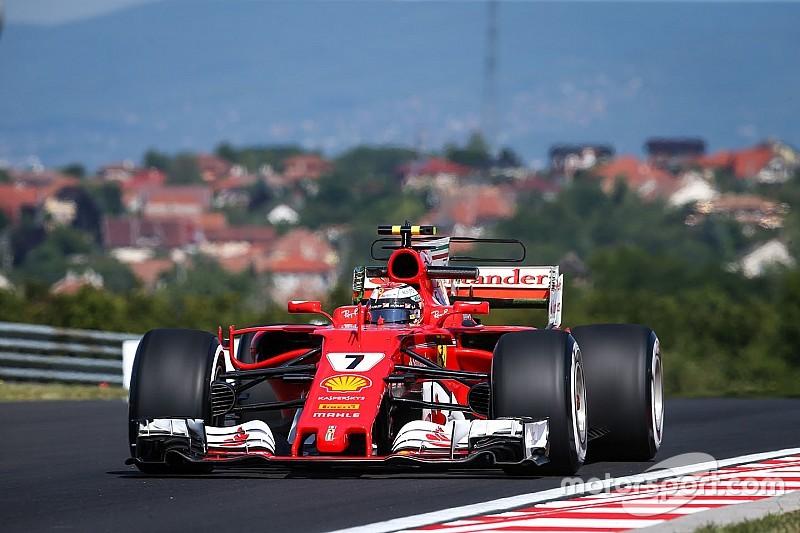 Raikkonen, Ferrari'nin temposundan memnun