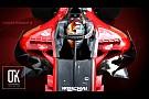 Concepto de diseño para el Halo de Ferrari 2018