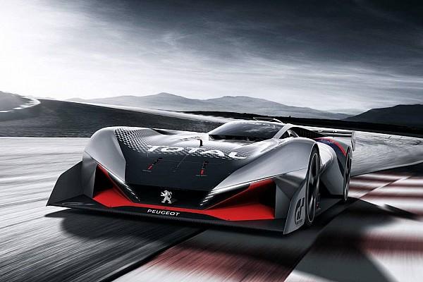 Autó BRÉKING PEUGEOT L 750 R HYbrid Vision Gran Turismo: nevében az ereje