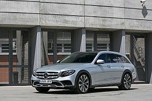 Automotive Noticias de última hora Así se comporta el Mercedes-Benz E 220 d 4MATIC All-Terrain 2017