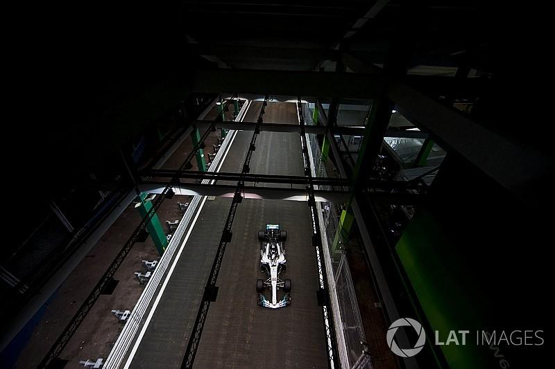 Leszakadt az ég Szingapúrban: nagy eső az F1-es helyszínen