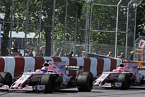 Формула 1 Новость Force India отказалась от командной тактики