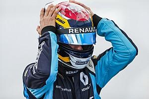 Формула E Новость Буэми разнес машину на тренировке Формулы Е: видео