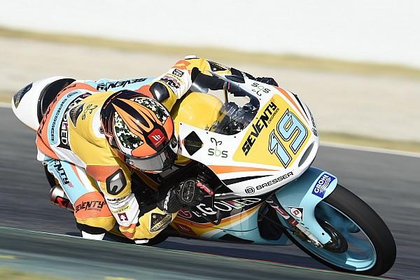 Moto3 Reporte de calificación Pole de Gabriel Rodrigo en Moto3
