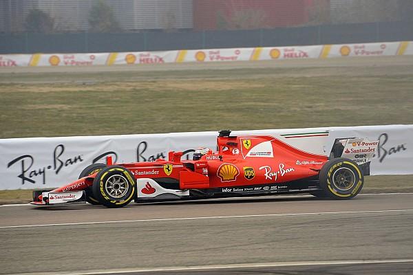 Formel 1 News Im Ferrari SF70H: Kimi Räikkönen unterbietet persönliche Bestzeit