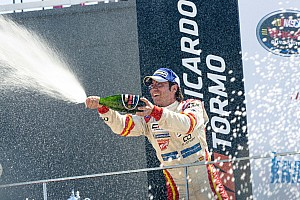 NASCAR Euro Breaking news Garcia dominates field to score win in season opener at home