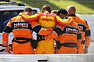 Hunter-Reay transferred to hospital after 200mph shunt