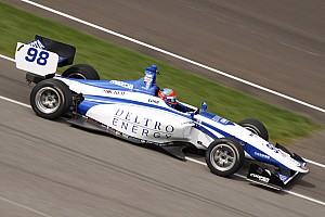 Indy Lights Breaking news Herta hits 200mph to top Lights testing at IMS
