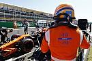 A McLaren különleges szerelése Monzából