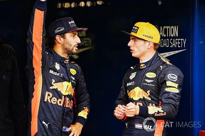 Ricciardo neemt voorbeeld aan Rossi bij onderlinge strijd met Verstappen