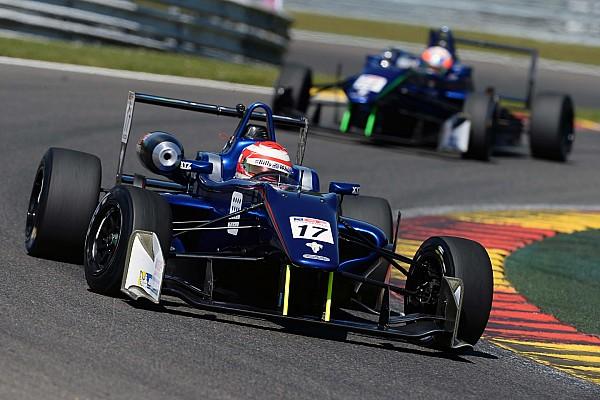 Euroformula Open Race report Devlin DeFrancesco scores double podium at Spa-Francorchamps