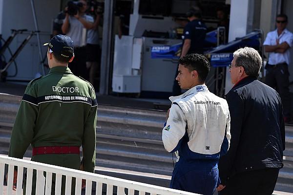 Wehrlein sobre el accidente con Button: