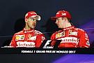 Vettel entiende el malestar de Raikkonen, pero niega las órdenes