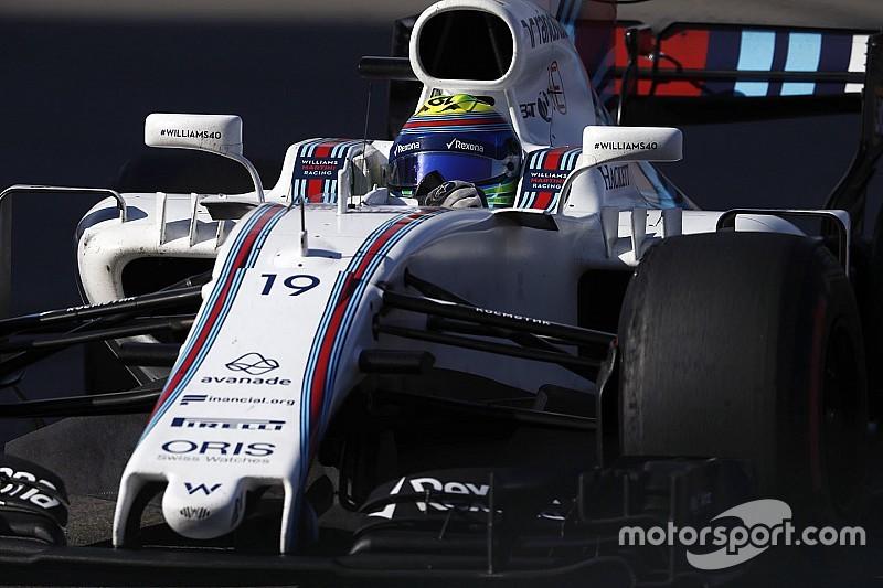 Massa aplaude el rápido desarrollo de Williams en 2017