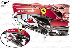 Formel 1 Feature Video: Die Updates am Ferrari SF70H als 3D-Animation