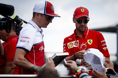 Raikkonen: Vettel/Ferrari problems not as big as made out