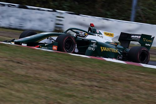 Sugo Super Formula: Cassidy wins, Sette Camara crashes