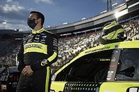 Four drivers advance from hectic NASCAR Open; Wallace wrecks