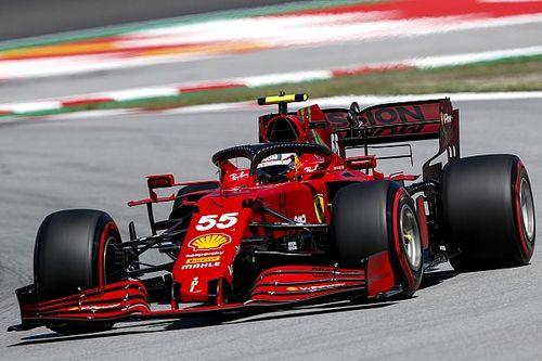 """Sainz: """"Barselona'da daha az düzlük olması Ferrari'ye yardım ediyor"""""""