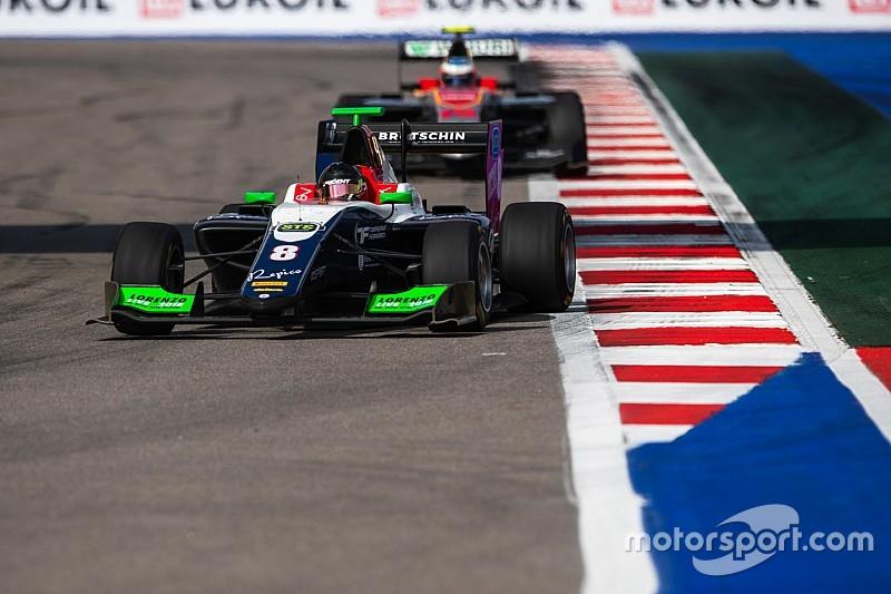 GP3 у Сочі: Бекманн вирвав перемогу в Моусона на останньому колі