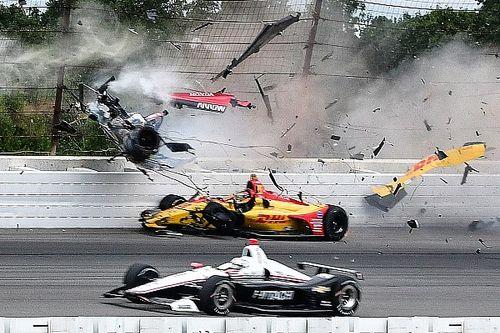 Top Stories of 2018, #3: Wickens' Pocono crash rocks IndyCar