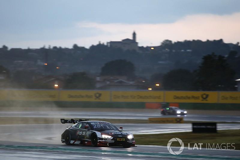 Loïc Duval conquista a sorpresa la pole position di Gara 2, la pioggia beffa Zanardi