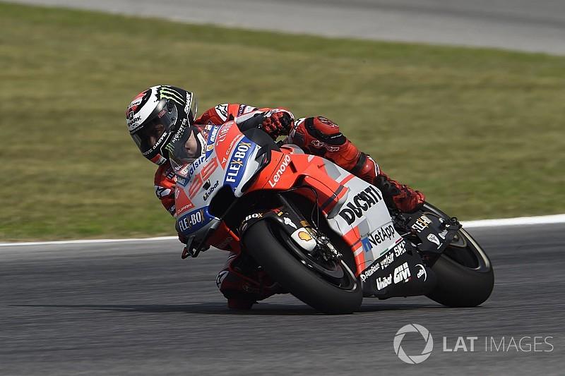 Lorenzo confirma boa fase e crava terceira pole do ano
