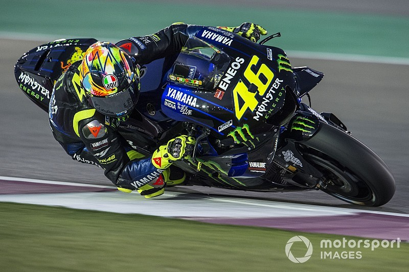 Yamaha manager unfazed by Rossi's Qatar test pace