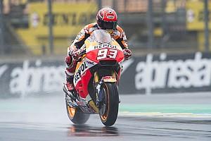MotoGP Practice report MotoGP San Marino: Terjatuh lagi, Marquez puncaki warm-up