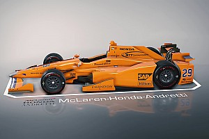 IndyCar Избранное 3D-модель: изучите машину Алонсо для Indy 500 со всех сторон