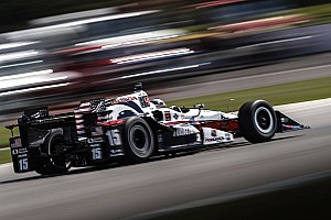 IndyCar Practice report Detroit IndyCar: Rahal leads opening practice