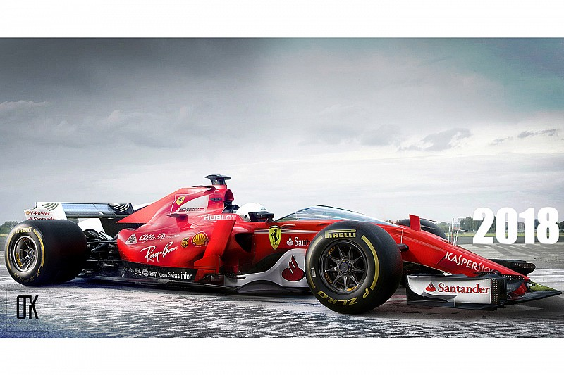 Ferrari F118c 2018 Konsept Tasarımı