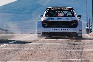 Egyéb autósport BRÉKING Az Audi támogatná az elektromos WRX-et