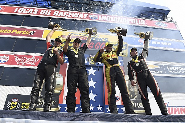 NHRA Race report Torrence, Todd, Skillman, Krawiec storm to U.S. Nationals wins
