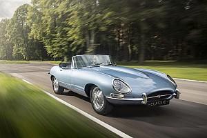 Autó BRÉKING Jaguar E-Type Zero: a világ legszebb elektromos autója