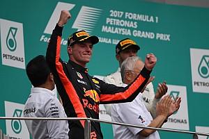 Formula 1 Analisi Verstappen: ecco come festeggiare i 20 anni vincendo in Malesia