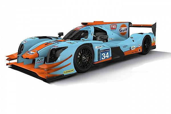 Die Farben von Steve McQueen: Tockwith fährt Le Mans im Gulf-Design