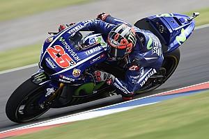 MotoGP Interview Vinales unable to ride Yamaha MotoGP bike how he wants
