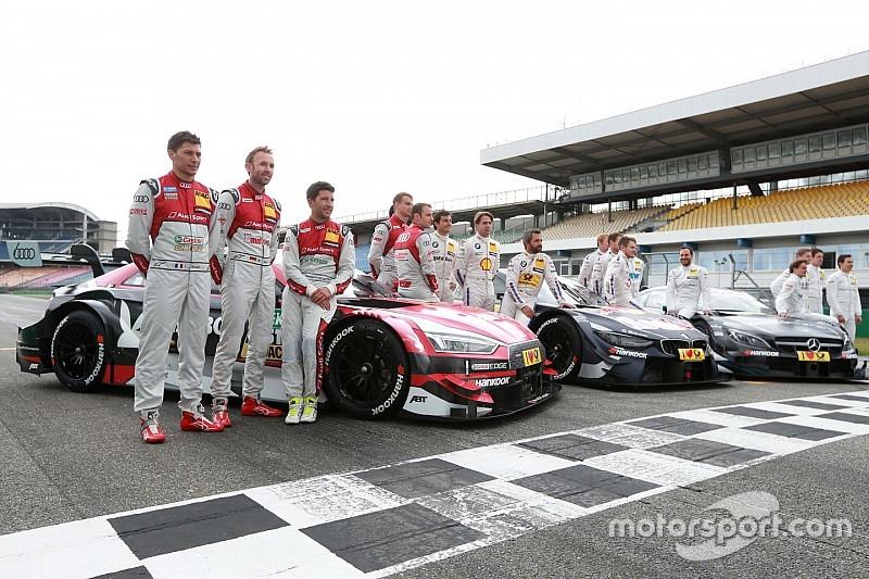 Die Starterliste der DTM-Saison 2017 mit Audi, BMW und Mercedes