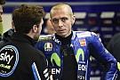 MotoGP Valentino Rossi hospitalisé après un accident à l'entraînement