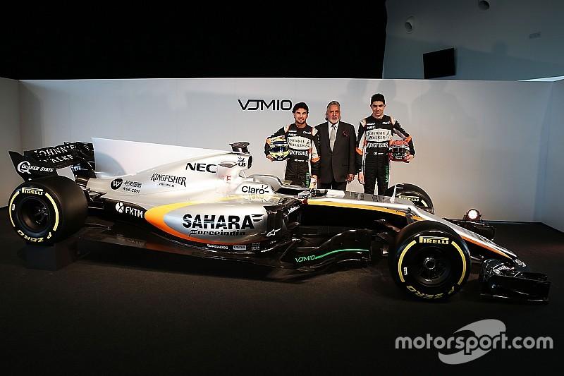Vijay Mallya: Force India will in der Formel 1 2017 in die Top 3